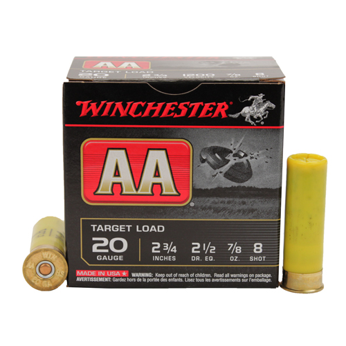 Winchester Ammo Winchester Ammo AA Target Load 20 Gauge, 2 3/4