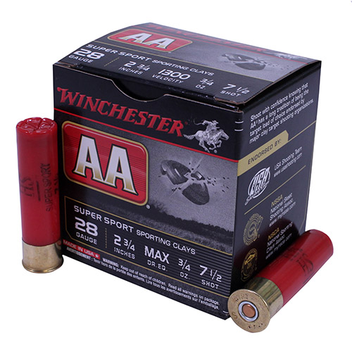 Winchester Ammo Winchester Ammo AA Target Load 28 Gauge, 2.75