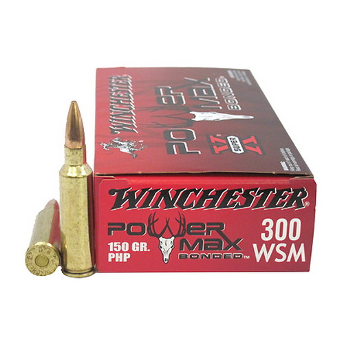Winchester Ammo 300 Winchester Short Magnum 150gr PowerMax Bonded (Per 20)