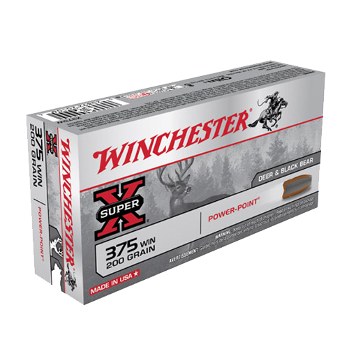 Winchester Ammo Winchester Ammo 375 Win 200Gr. PowerPoint X375W
