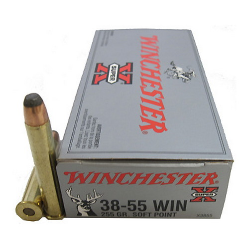 Winchester Ammo 38-55 Winchester 255 Gr Soft Point/20