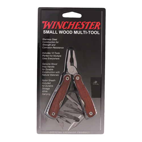 Winchester Knives Winchester Multi-Tool Small Wood Inlay