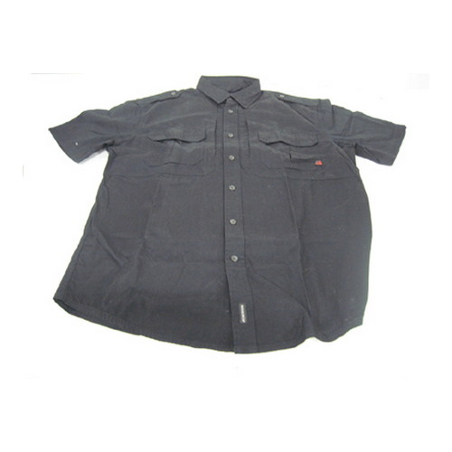 Woolrich Woolrich Men's Short Sleeve Shirt Black Medium 44901-BLK-M