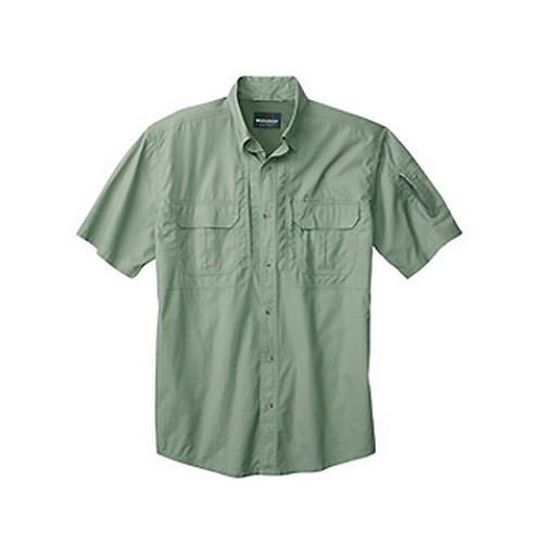 Woolrich Woolrich Men's Short Sleeve Operator Shirt, Sage Small 44914-SAG-S