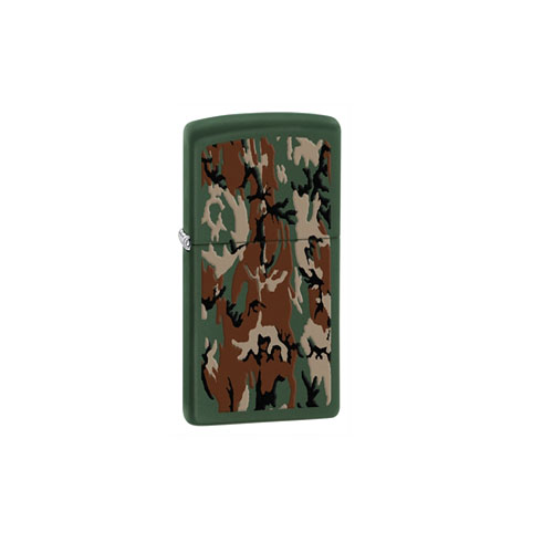 Zippo Zippo Windproof Lighter -Green Matte-Outdoor Browning 28330