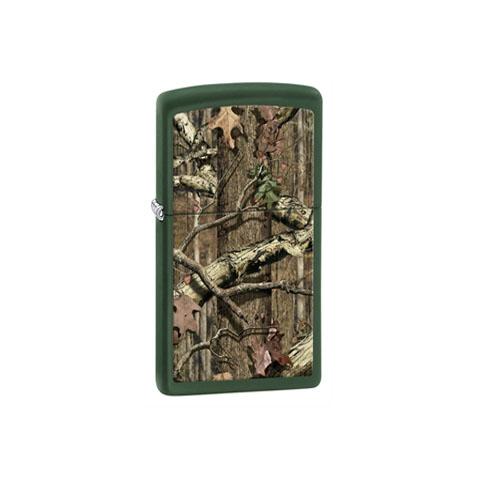 Zippo Zippo Windproof Lighter,MOBI, Green Matte, ODBG 28331