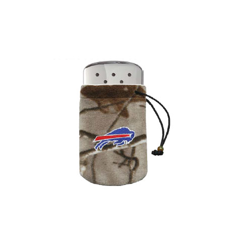 Zippo NFL/Realtree Logo Bag, w/Chrome Hand Warmer Buffalo Bills