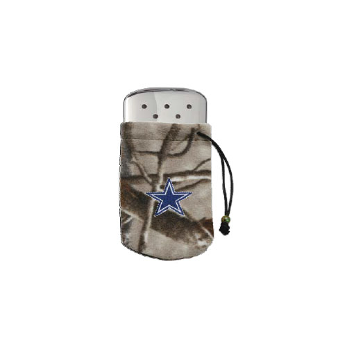 Zippo Zippo NFL/Realtree Logo Bag, w/Chrome Hand Warmer Dallas Cowboys 40297