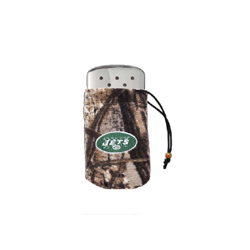 Zippo Zippo NFL/Realtree Logo Bag, w/Chrome Hand Warmer New York Jets 40300